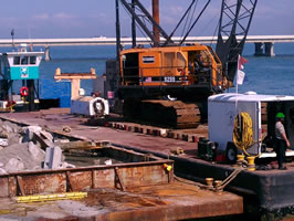Commercial diving contractor in marine services industry on west coast of Florida